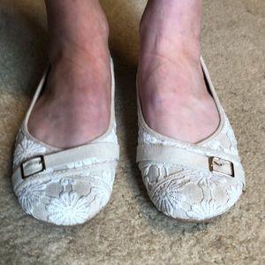 Slip on ballet shoes